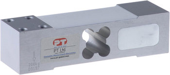 PT Limited - Model PTASP6-E3 - Aluminium Single Point Loadcell (50kg - 300kg)