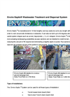 Enviro-Septic - Wastewater Treatment and Dispersal System Datasheet