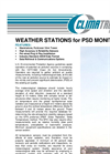 Weather Station for PSD Monitoring Brochure