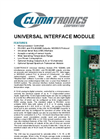 Universal Interface Module Brochure