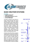 BASIC Weather Station- Brochure