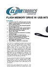 Climatronics - Model CSC115 - Flash Memory Drive W/USB Interface - Brochure