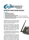 Climatronics - Model 900MHz - Spread Spectrum Radio for IMP- Series Data Loggers - Brochure