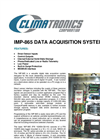 Climatronics - Model IMP-865 - Data Acquisition System - Brochure