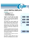 L.E.D. Digital Display System Datasheet