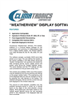 Climatronics WeatherView (WView) - Universal Display Package Software Datasheet