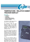 Temperature / Relative Humidity Tracker Display Datasheet