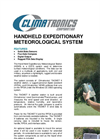 Climatronics - Hand Held Expeditionary Meteorological Station (HEMS) Datasheet