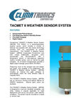 TACMET - Model II - Weather Sensor System (JBPDS) Datasheet
