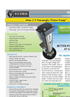 Atlas - Model 2.5 - 101 - Pneumatic Piston Pump Brochure