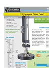 V-2 Pneumatic Piston Pump - 101 - Pneumatic Pump - Technical Datasheet