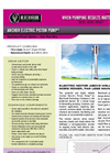 Anchor Electric - Model 102 - Reciprocating Piston Pump - Datasheet