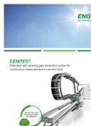 Cemtec - - Self Cleaning Gas Extraction Probe Brochure