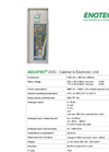 AQUATEC - 2000 - Cabinet & Electronic Unit Brochure