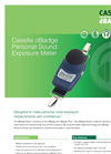 dBadge Personal Sound Exposure Meter Datasheet