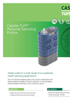 Casella - Model TUFF - Personal Sampling Pumps - Datasheet
