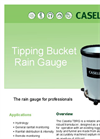 Casella - Model TBRG - Tipping Bucket Rain Gauge - Datasheet