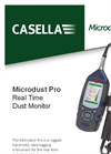 Casella - Model Microdust Pro - Real-Time Dust Monitor - Datasheet