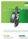 Microdust - Model Pro - Hand-Held, Data Logging Instrument Datasheet