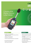 Casella - Model 63x Series - Digital Sound Level Meter Datasheet