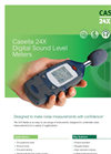 Casella - Model 24x Series - Digital Sound Level Meter Datasheet