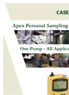Apex - Personal Sampling Pump Datasheet