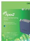 Casella - Model Apex2 - Personal Air Sampling Pump - Brochure