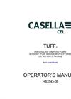 Casella - Model TUFF - Personal Sampling Pumps - Operators Manual