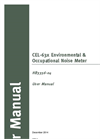 Casella - Model CEL-63x - Environmental & Occupational Noise Meter - User Manual