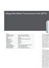 MegaNet Two-Way Wall Mount Meter Transmission Units Brochure
