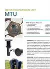 MegaNet - Two-Way Pit Meter Transmission Units - Brochure