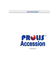 Prolis - Laboratory Information System Accession Routine Software Manual