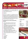 Model TVE - Tray and Boxfilling Machine Brochure