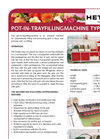 Model SE - Pot-In Tray Filling Machine Brochure