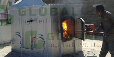 Solid Waste - Incinerator - For Waste Disposal of All Solid Waste