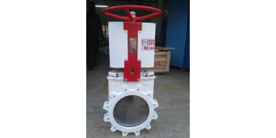 Model B Series - Bi-Directional Lug Type , Soft Seated Knife Gate Valves