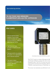 Model TQ 122 - Toxic Gas Detection and Oxygen Depletion Sensors Brochure