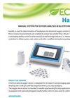 ECHO - Model HandO2 - Hand Held System for Oxygen Analysis - Brochure