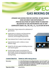 ECHO - Gas Mixing Device - Brochure