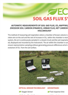 ECHO - Soil Gas Flux - Brochure