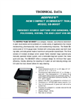 AERPRO - Model SB-800DT - New Compact Downdraft Table