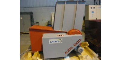 ARTECH - Model AZR 600-600S - Single Shaft Shredders