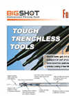 Big Shot - Model U - Pneumatic Underground Piercing Tools Datasheet
