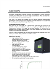 Airmodus - Model A20 - Condensation Particle Counter  - Datasheet