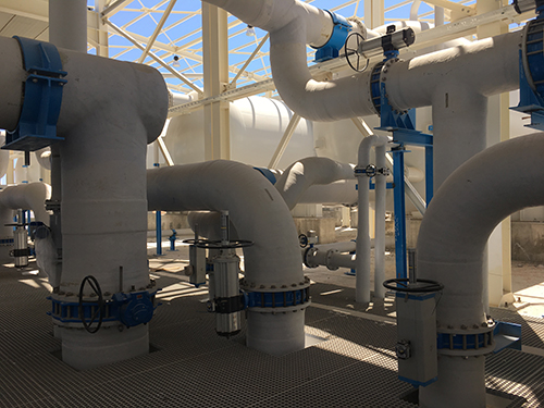 GRP pipes selected for the new seawater desalination plant in Djerba, Tunisia