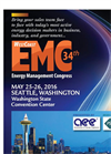 34th Energy Management Congress - Conference and Expo 2016 - Brochure
