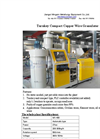 Mingxin - Model MX-400 - Turnkey Compact Copper Wire Granulator Datasheet