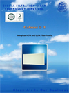 Galacel - Model II - Minipleat HEPA and ULPA Filter Panels Datasheet