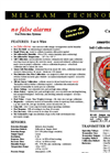 TA-2100 IR - Infrared CO2 Gas Detector – Datasheet