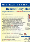 Mil-Ram - Remote Relay Module - Data Sheet
